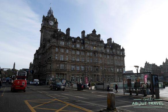 ruta de Harry Potter en Edimbugo: hotel Balmoral