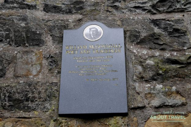 ruta de Harry Potter en Edimbugo: tumba de McGonagall