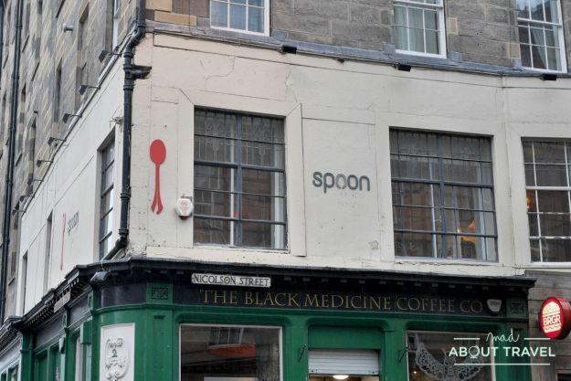 ruta de Harry Potter en Edimbugo: Spoon