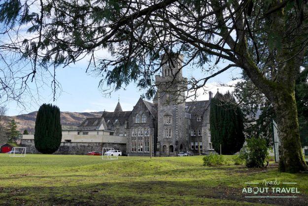 que ver en fort augustus: abadía benedictina
