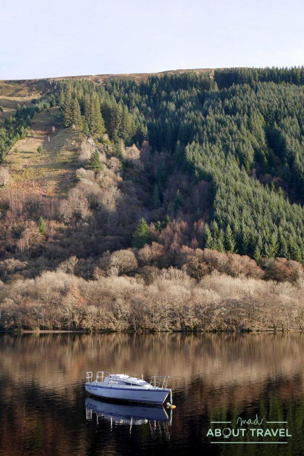 loch oich, highlands de Escocia