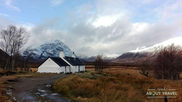 que ver en Glencoe: blackrock cottage