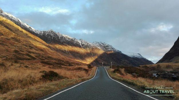 carretera de Glencoe