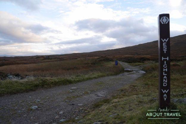 senderismo en Glencoe: west Highland Way