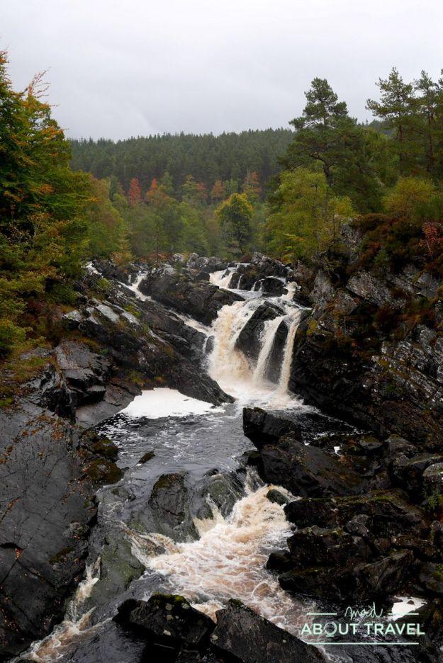 ruta north coast 500: rogie falls
