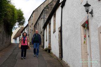 calles de culross, escocia