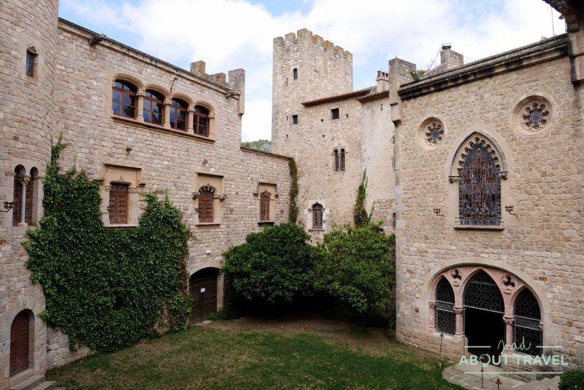 Castell de Santa Florentina en Canet de Mar