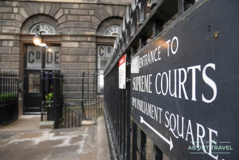 albergue edimburgo - The court