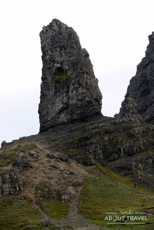 old man of storr en la isla de Skye