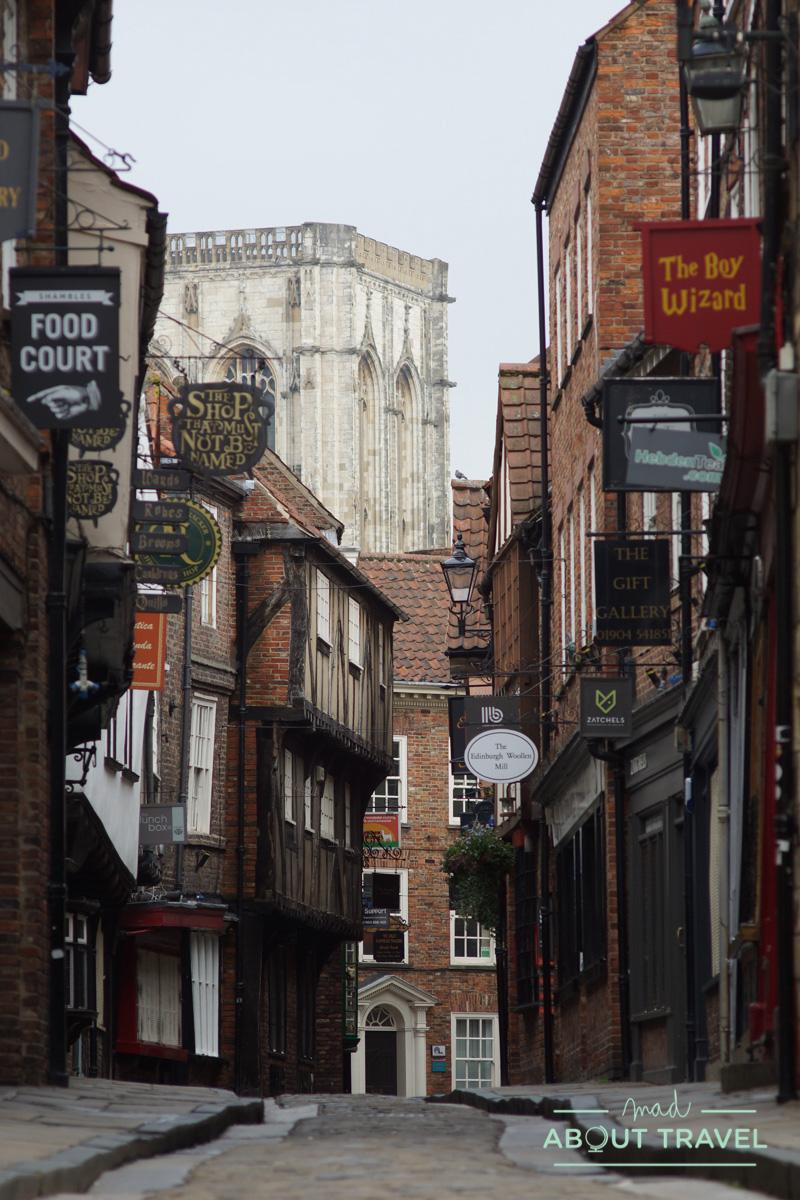 calle de Shambles en York