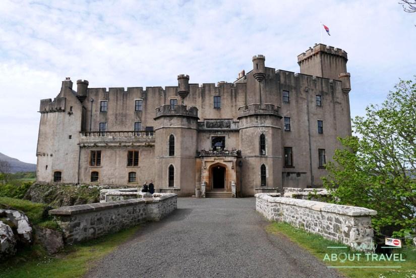 Entrada del castillo de Dunvegan