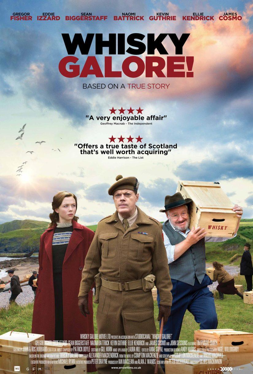 Cartel de la película Whisky Galore!