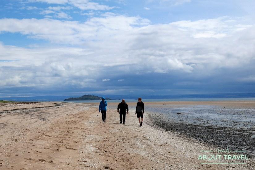 Playa de Pettycur en KInghorn, Fife