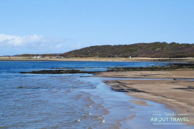 playa de Longniddry en East Lothian