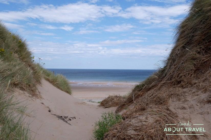 Playa de Tyninghame en East Lothian