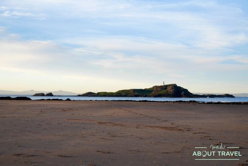 Playa de Yellowcraig Beach en East Lothian
