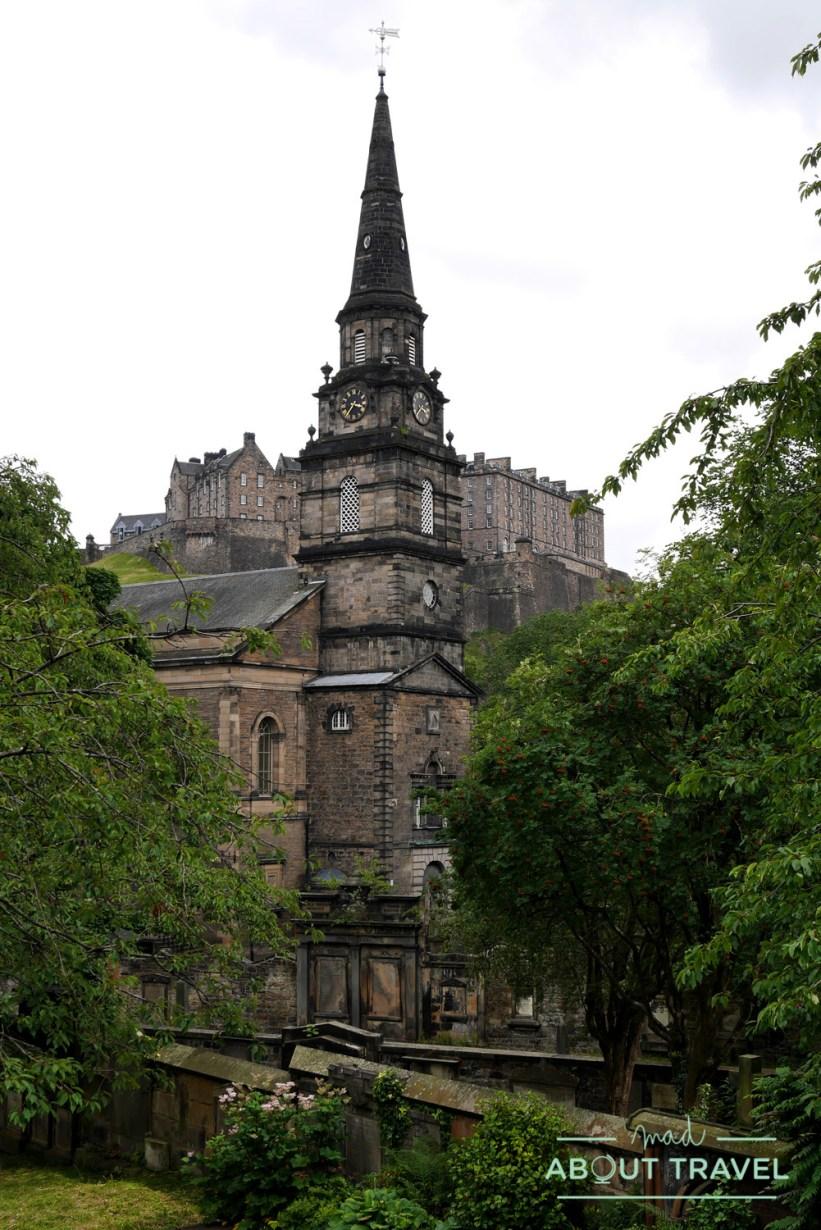 cementerios de Edimburgo: st. John's