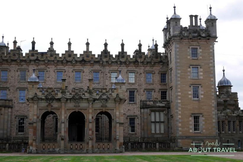 castillo de Floors, Escocia