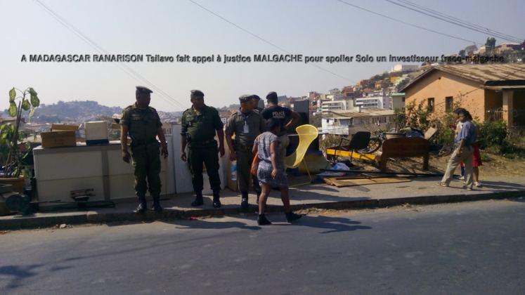 A MADAGASCAR RANARISON Tsilavo fait appel à justice MALGACHE pour spolier Solo un investisseur fraco-malgache