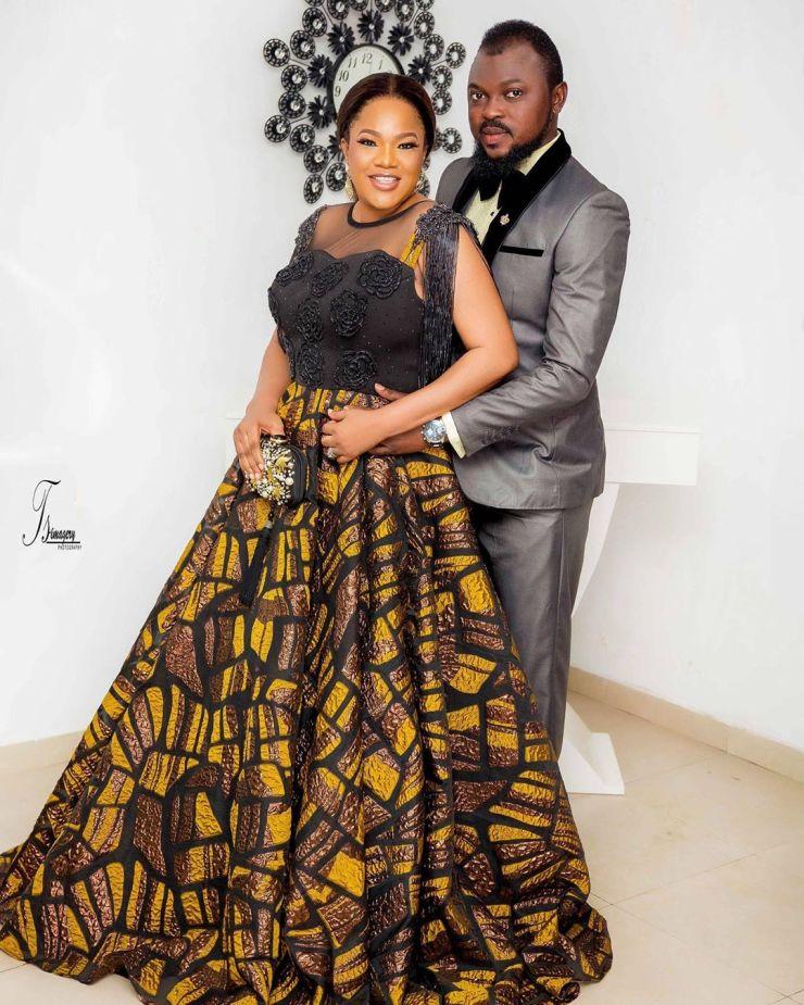 Toyin Abraham and Husband, Kolawole Ajeyemi
