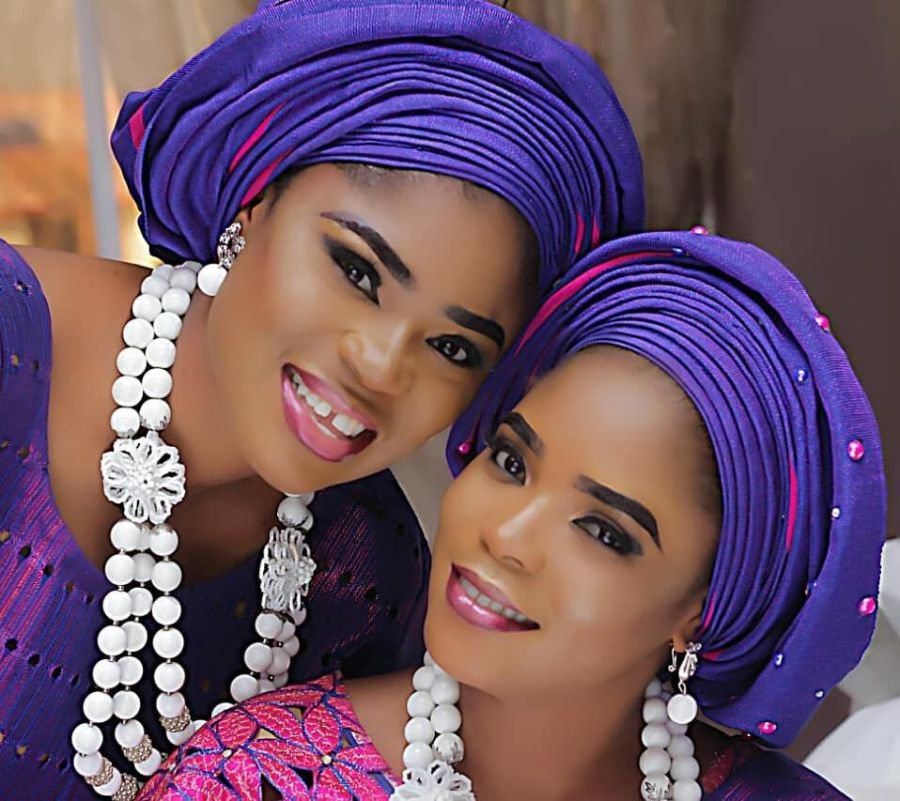 Eniola Ajao and Twin Sister