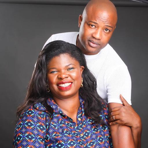 Bimpe Onakoya and Husband
