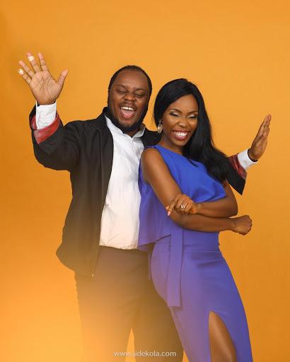 Lala Akindoju and Chef Fregz