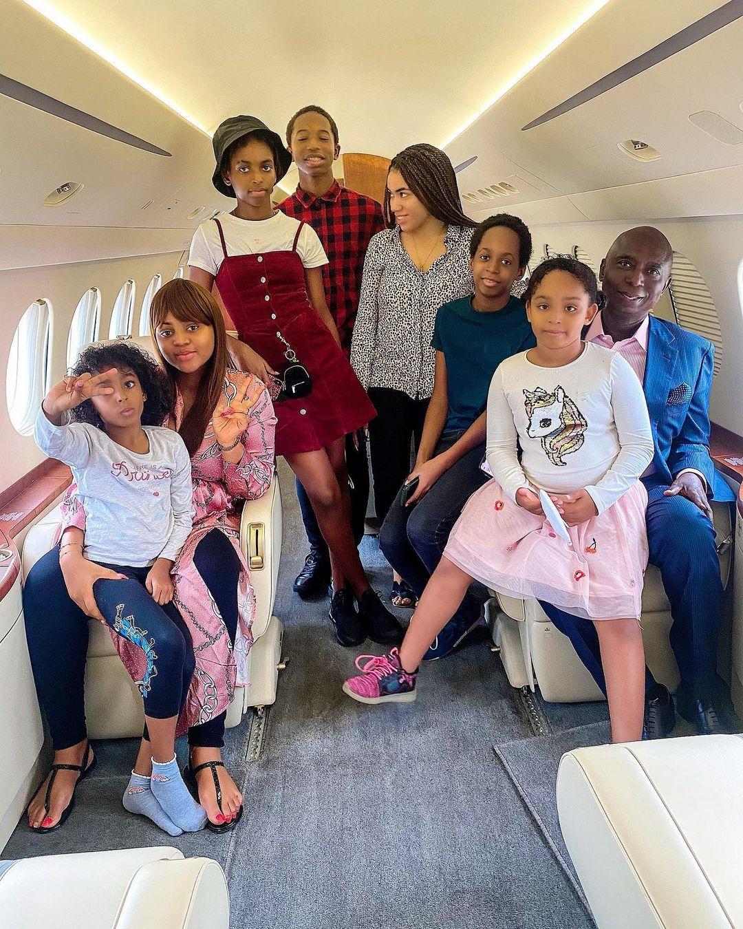 Ned Nwoko and Children