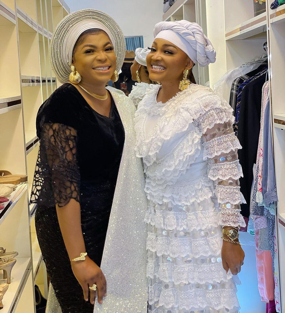 Mercy Aigbe and Kemi Afolabi