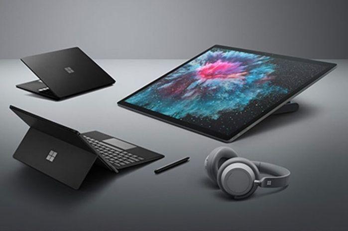 microsoft surface laptop surface pro 6 surface headphones