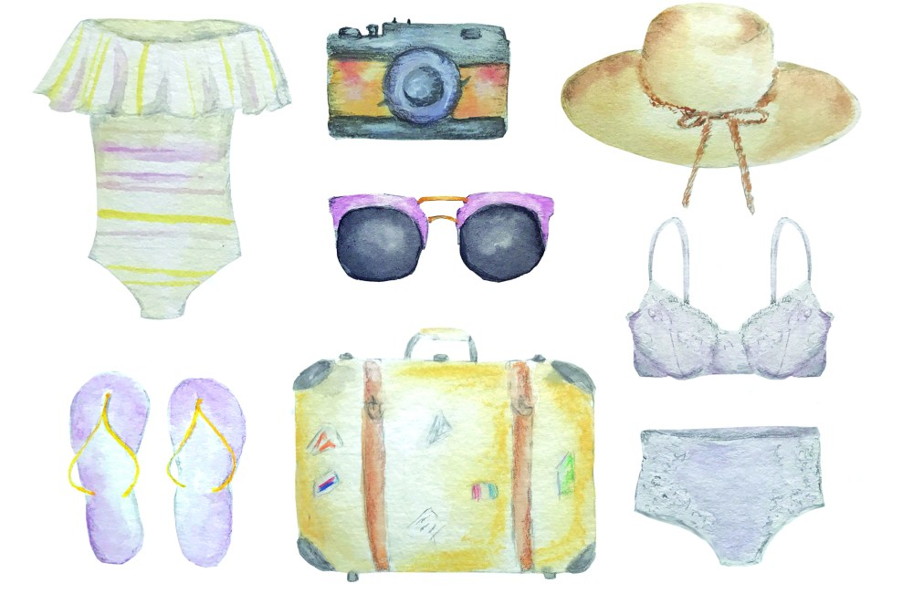 Traveling With Your Lingerie: My Tips & What's In My Bag