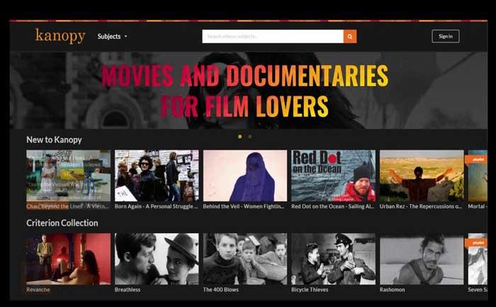 Kanopy Free Movie Download Sites