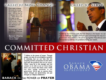 Barack Obama, Committed Christian