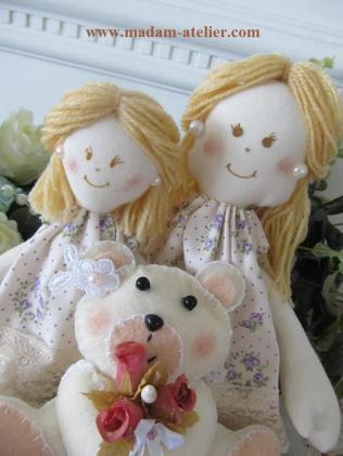 Bonecas para o dias das mães