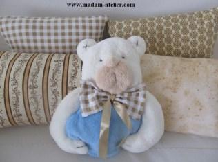 almofada urso