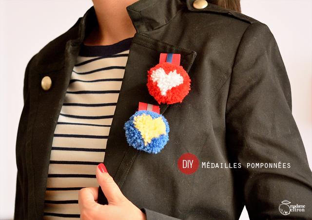 Tuto DIY Pompon En Laine En Forme De Coeur Madame