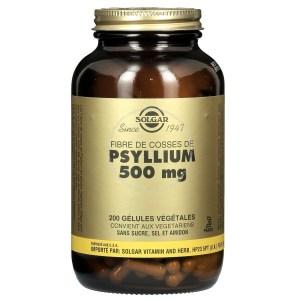 Gélules de psyllium Solgar