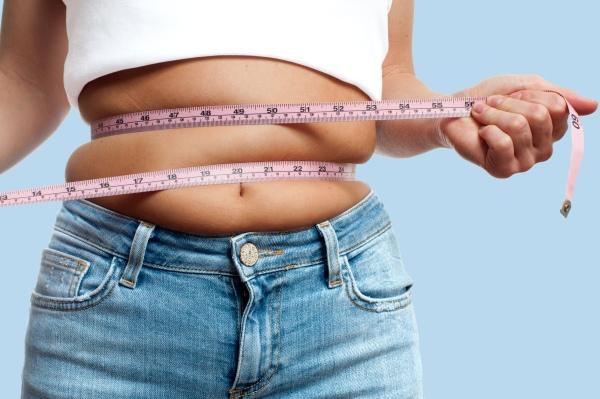 Femme ayant pris du poids