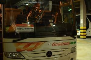 トリエステ→ドブロブニクバス