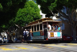 サンフランシスコ ケーブルカー