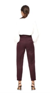 Pantalon violet profond