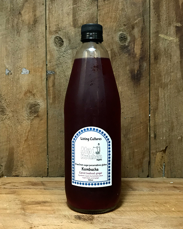 Organic Kombucha Beetroot, carrot ginger