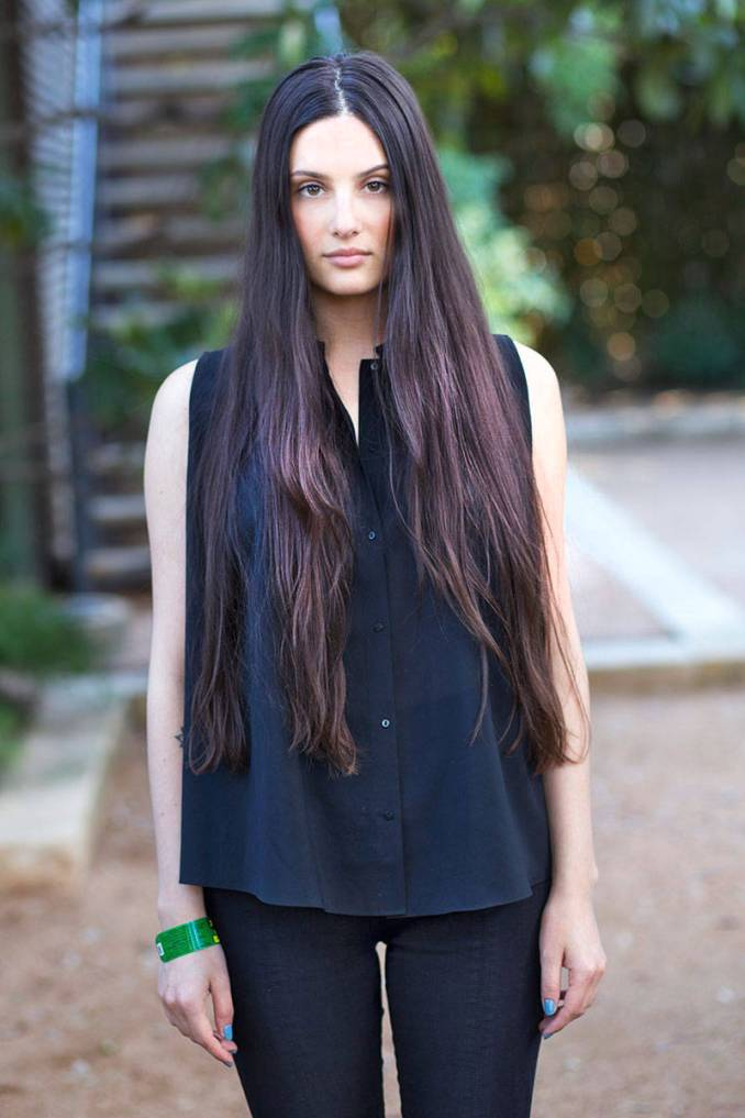 hairstyles for very long hair-6 amazing styles you can apply