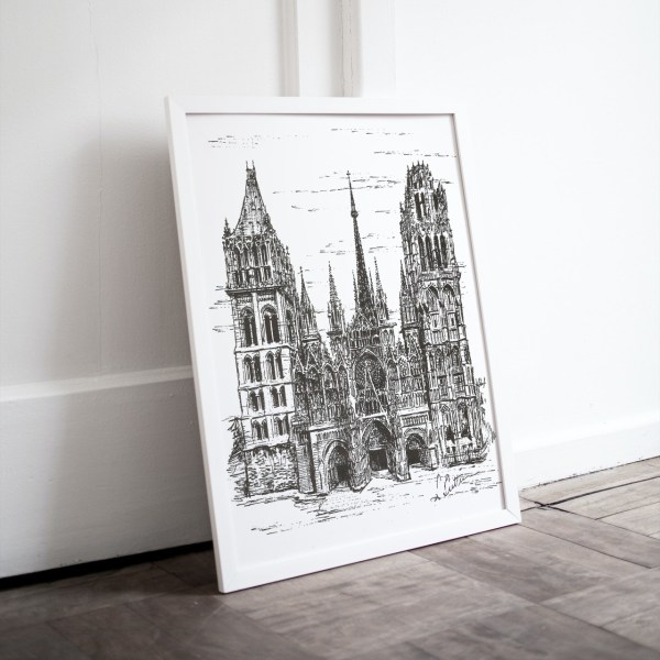 Rouen Cathedral print