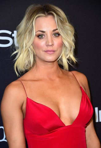 kaley-cuoco-golden-globes-after-party-2016