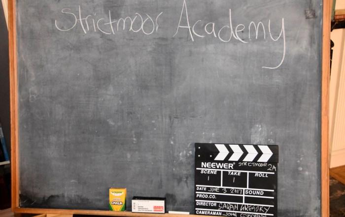Sarah Gregory producer, Strictmoor Academy, MadameSamanthaB,