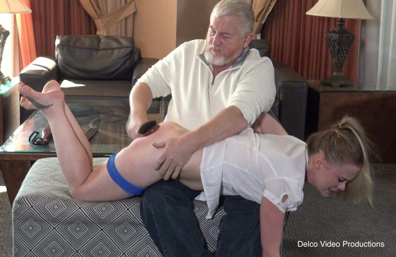 Stevie Rose gets spanked, Crimson Moon Spanking Party, MadameSamanthaB, MadameSamanthaB spanks, delcovideoproductions, kinky interviews, MadameSamanthaB interviews, Mr. Rob spanking video producer, girls get spanked, brush spankings