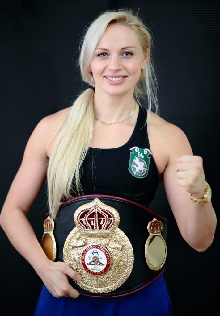 Svetlana Kulakova Boxing Champion