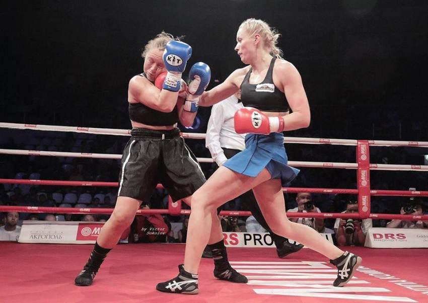 Svetlana Koulakova boxeuse russe
