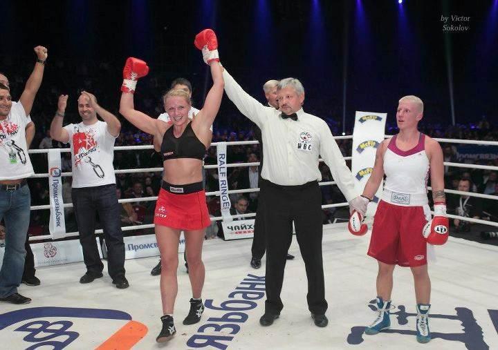 Svetlana Kulakova Boxing and Kickboxing Champion